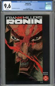 Ronin #4 CGC 9.6 NM+ WHITE PAGES