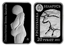 "Belarus 2011 20 Rubles  Commemorative Coin ""The Paleolithic Venus. Kastionki"""