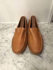 Mens TODS Leather Slip On Driving Mocs / Loafers / Shoes. SZ 7.5. Tod's.
