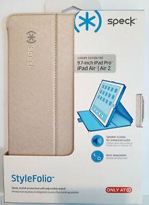 "Speck StyleFolio Luxury Edition for 9.7"" iPad Pro, Air, Air 2 Textured Metallic"