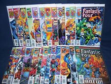 Fantastic Four #1 - #25 Vol 3 25 Issues Marvel Comics NM with Bag and Board