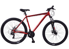 "Ammaco Team 4.0 29"" Mens Mountain Bike Front Suspension 23"" Frame Alloy Red"