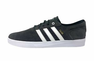 Adidas Silas Vulc BY3946 Shoes Mens Size 8 Skate Sneakers Gray White