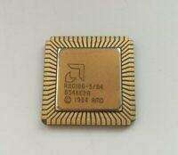 Vintage CPU TOP cond. GOLD Intel R80186 Intel 80186