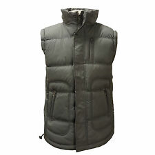 Mens Padded Lined Fleece Quilted Sleeveless Gilet Gillet Coat Bodywarmer Jacket