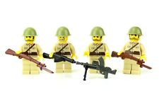 custom US WW2 Imperial Japanese Army soldiers made with real LEGO(R) Squad 4