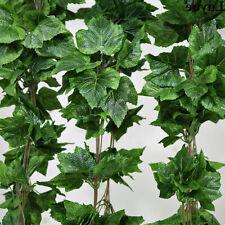 5x Artificial Plant Ivy Vine Leaf Trailing Fake Foliage Flower Hanging Garland*