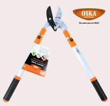 OKSA Anvil Ratchet Lopper with Telescopic Aluminium Handles