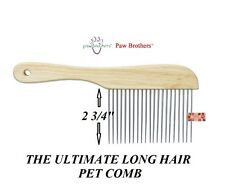 """EXTRA LONG """"POODLE Style"""" UTILITY Dog Cat Pet HAIR Coat Grooming XL TOOTH COMB"""