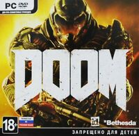 Doom 2016 Jewel Case Bethesda Brand New Factory Sealed Russian Cover