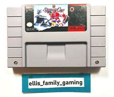 NHL Stanley Cup Super Nintendo SNES Game Cleaned - Works Great - Ships Fast