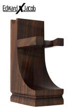 EXJ - She-sham Wood Stand for Safety Razor, Straight Razor, Shaving Brush