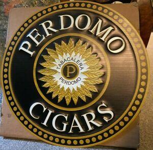 Perdomo Cigars Metal Sign