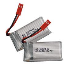 2pc 3.7V 25C 650 mAh Li-po battery For Syma X5SW X5C-1 X8tw part Drone RC 802540