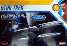 Star Trek Grissom NCC-638 Klingon Bird-Of-Prey 1:1000 Model Polar Lights POL957