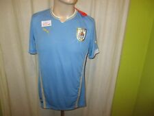 "Uruguay ""AUF"" Nr.405 Puma Heim Weltmeisterschaft Trikot 2014 Gr.S- M Neu"