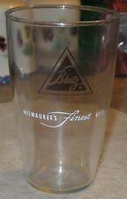 Vintage Blatz Beer Glass - Milwaukee's Finest - 1960's Era