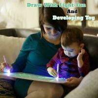 Draw With Light Fun And Developing Toy Drawing Board Magic Draw Educational H5C4