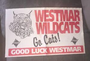 Vintage Westmar High School - Lonaconing Maryland - Newsprint Banner