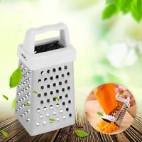 Stainless Steel Vertical Mini Grater Handy Camping Nutmeg Lemon Cheese Rob Top