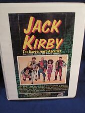 KIRBY JACK COMPLETE BASE SET in a Notebook & Pages  w/wrapper Comic Art 1994