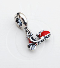 "Genuine Pandora Dangle Charm ""Red Scooter"" 791140EN42 - retired"