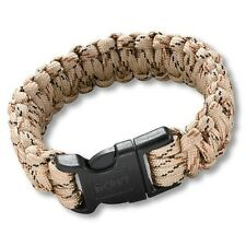CRKT Onion Survival Para-Saw Paracord Bracelet Large tan 9300TL