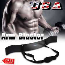 Heavy Duty Arm Isolator Blaster Body Building Bomber Bicep Curl Triceps Bar USA