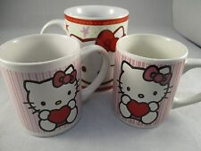 Sanrio - Hello Kitty - Party Kitchen Mugs Beakers Cups - Used Collection