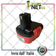 Batteria compatibile per BOSCH  PSR12VE-2  12V 2000mAh 03027