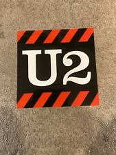 """New listing U2 """"how to dismantle an atomic bomb� promo sticker"""