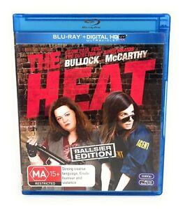 The Heat (Blu Ray, 2013) Sandra Bullock Ballsier Edition Region B Free Postage
