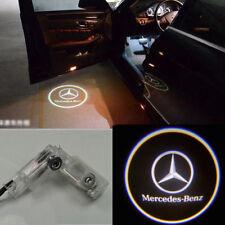 2x LED Door Step Courtesy Shadow Laser Light for Mercedes ML&M 05-11 GL 06-10 WT