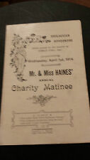 Pre 1940 Collectable Theatre Programmes (1950s)