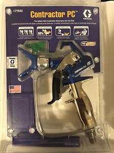 GRACO CONTRACTOR PC AIRLESS SPRAY GUN W/ LP517 TIP