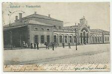 Ansichtskarten aus Deutschland mit Stempel und dem Thema Eisenbahn & Bahnhof