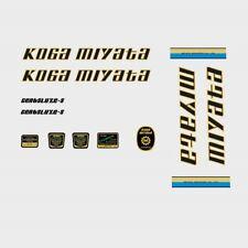 Koga Miyata Gentsluxe-S Bicycle Decals, Stickers n.802