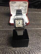 Cartier Santos Galbee | Acero Inoxidable | reloj de mujer de cuarzo | | Caja