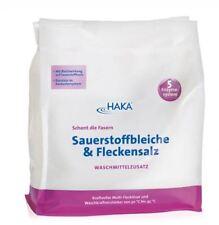 Haka Sauerstoffbleiche Fleckensalz 1,5 kg Beutel mit 5 Enzyme System Neu