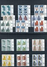 Berlin Sehenswürdigkeiten Viererblock Bogenrand links Mi.164,20 € postfrisch
