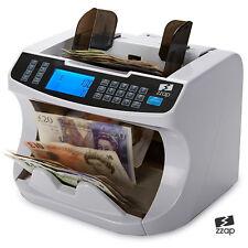 Banconote Note Valuta Cassa Count Banco Libbra Macchina Soldi Falsi Detettore