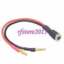 Dc power femelle 5.5x2.5mm pour fiche banane 4mm chargeur plomb câble pour cctv