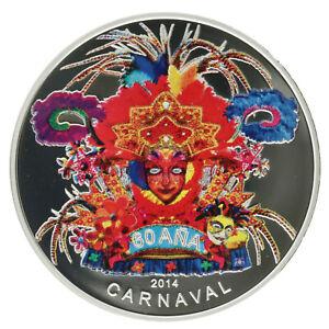 Aruba - Silver 5 Florin Coin - 'Carnival' - 2014 - Proof