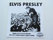 ELVIS PRESLEY SUN 45  BABY LET'S PLAY HOUSE  SUN 217