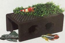 Aquarium fish tank decoration plant Java Moss Ceramic cave hide cichlid pleco