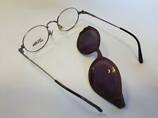 Jean Paul Gaultier Vintage Clip On Eyeglasses Sunglasses New Old Stock NOS Rare