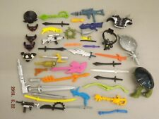 Vintage Teenage Mutant Ninja Turtles Weapons & Accessories Lot TMNT