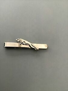 Jaguar Tie Clip / Money Clip Silver Tone 5 cm In Length
