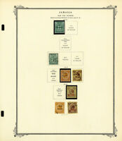 Jamaica Clean Nearly All Mint 1916 to 1970s Stamp Collection