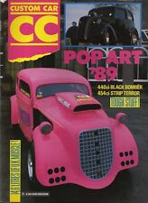 CUSTOM CAR MAGAZINE - MARCH 1989 -